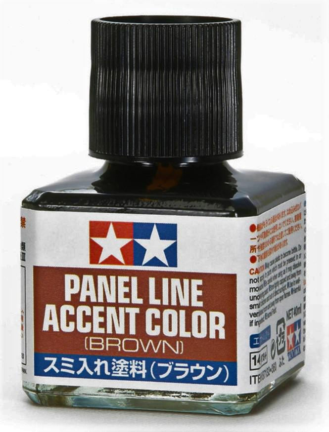 Tamiya Panel Line Accent Color Brown 40 ml 87132