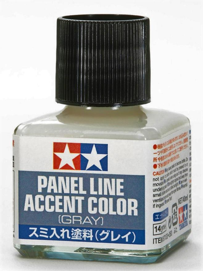 Tamiya Panel Line Accent Color Gray 40 ml 87133