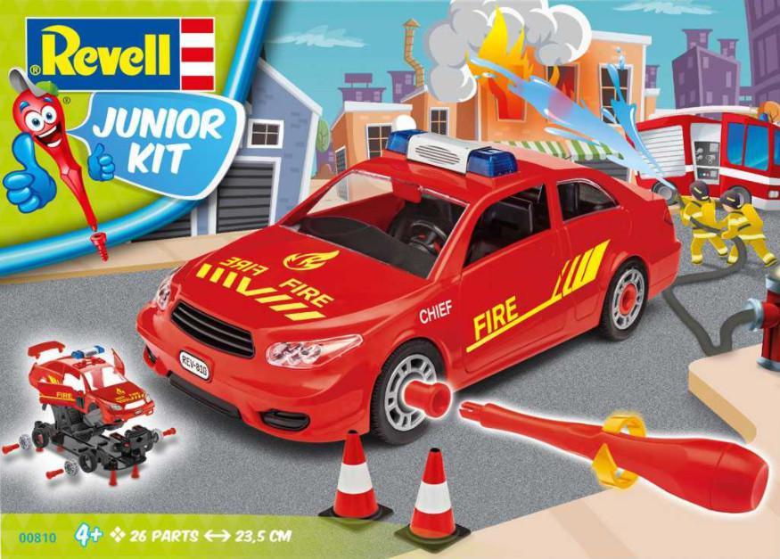 Revell Fire Chief Car Junior Kit 1:20 00810