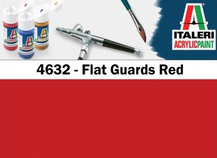 Italeri barva akryl 4632AP - Flat Guards Red 20ml