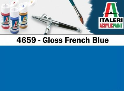 Italeri barva akryl 4659AP - Gloss French Blue 20ml