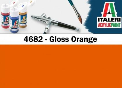 Italeri barva akryl 4682AP - Gloss Orange 20ml