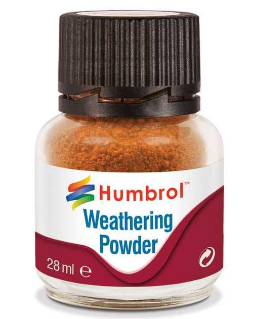 Humbrol Weathering Powder Rust - pigment pro efekty 28 ml AV0008