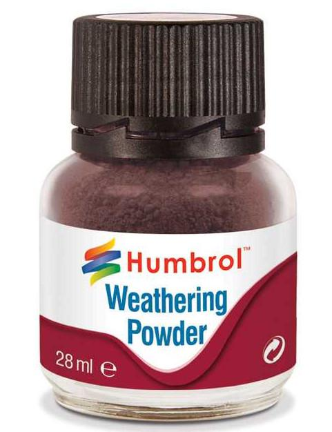 Humbrol Weathering Powder Dark Earth - pigment pro efekty 28 ml AV0007