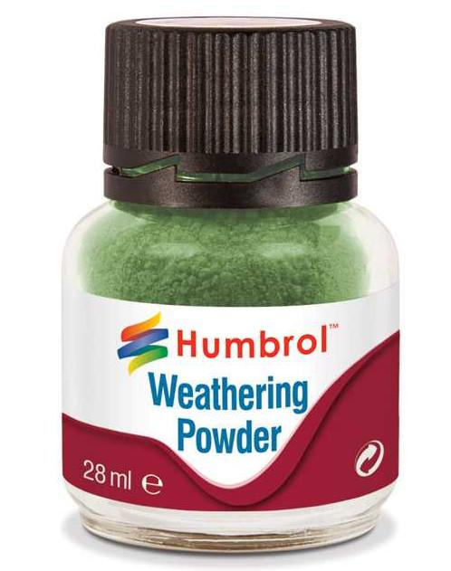 Humbrol Weathering Powder Green - pigment pro efekty 28ml