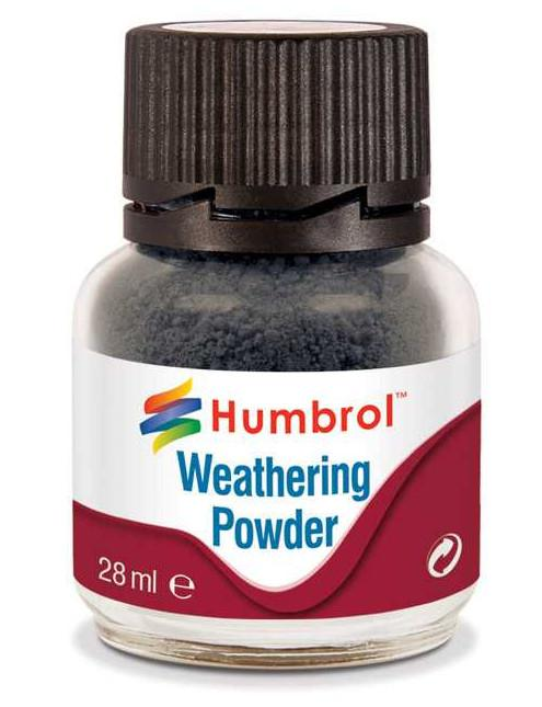 Humbrol Weathering Powder Smoke - pigment pro efekty 28 ml AV0004