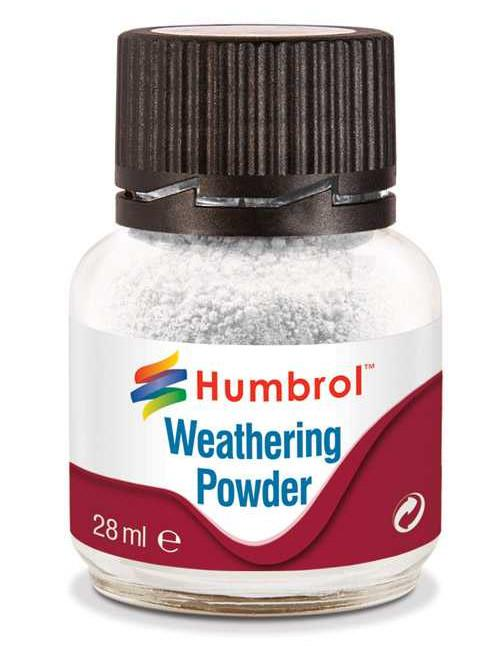 Humbrol Weathering Powder White - pigment pro efekty 28ml