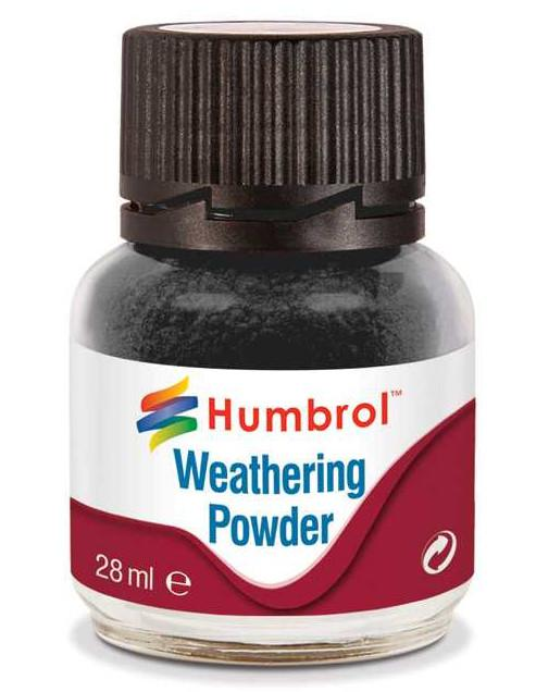 Humbrol Weathering Powder Black - pigment pro efekty 28ml