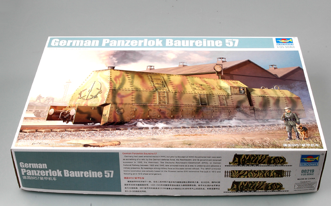 Trumpeter German Panzerlok BR57 Armoured Locomotive 1:35 00219