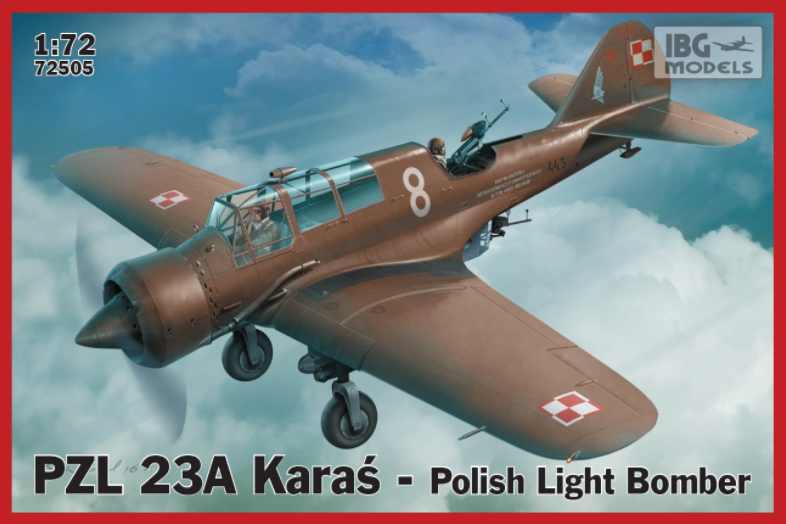 IBG PZL.23A Karas - Polish Light Bomber 1:72