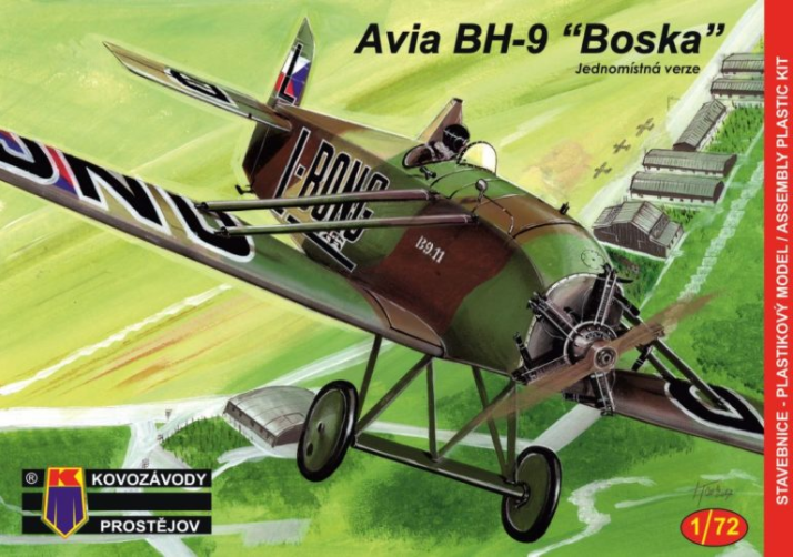 Kovozávody Avia BH-9 Single-seater 1:72