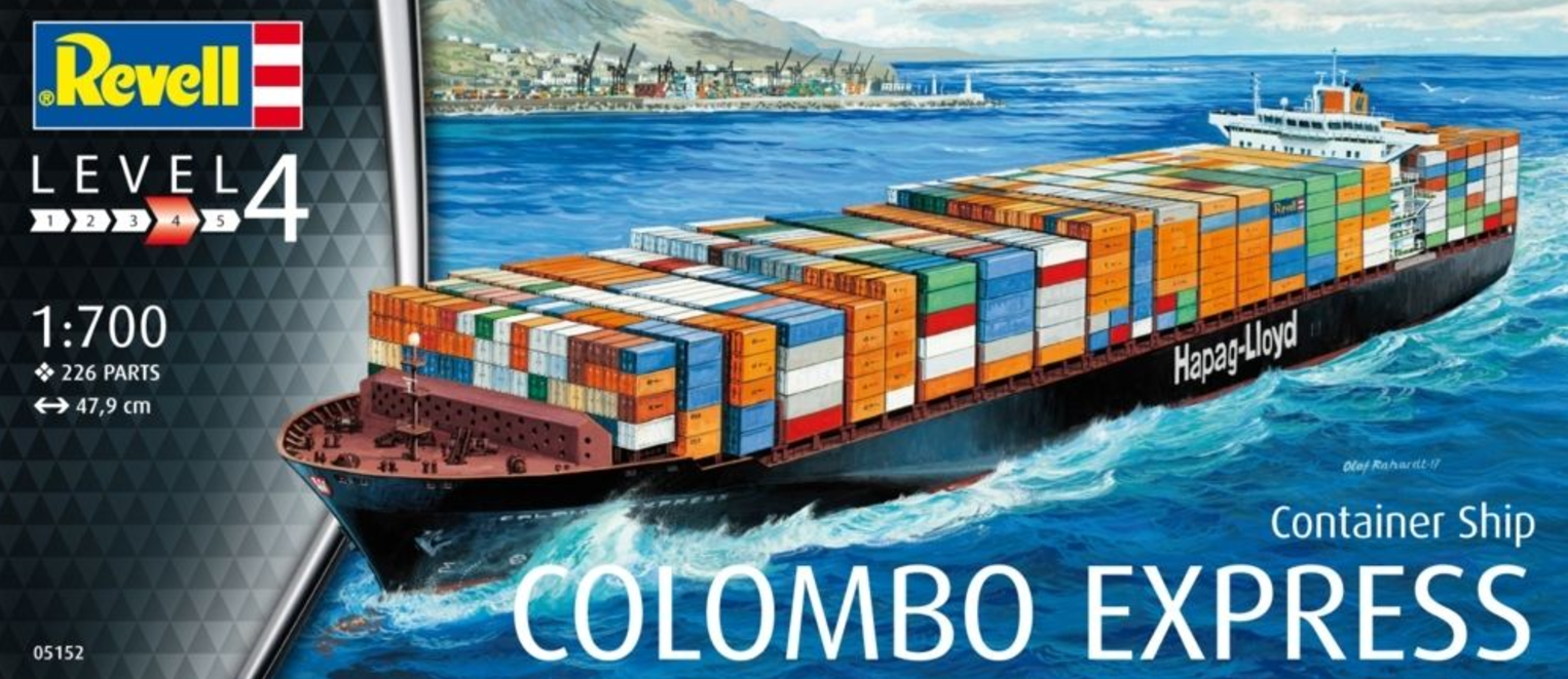Revell Container Ship COLOMBO EXPRESS 1:700 05152
