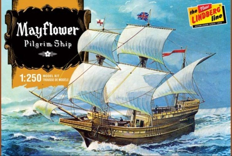 Lindberg Mayflower 1:250