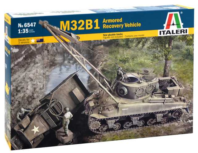Italeri M32B1 Armored Recovery Vehicle 1:35 6547