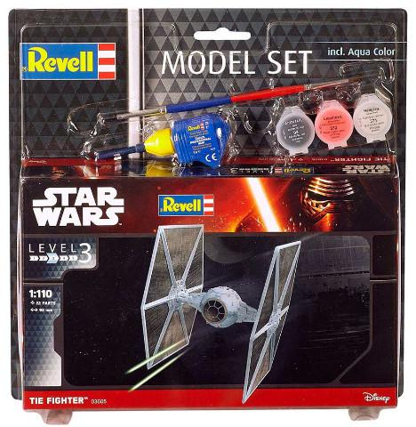 ModelSet SW - TIE Fighter (1:110) 63605
