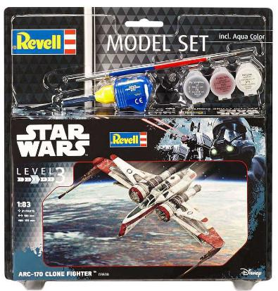 ModelSet SW - ARC-170 Fighter (1:83) 63608