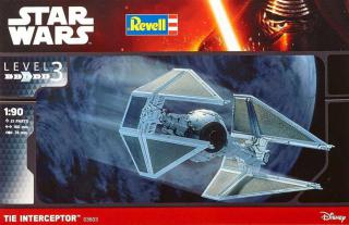 Revell Star Wars TIE Interceptor 1:90 03603