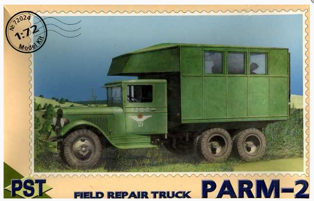 PST PARM-2 Field repair truck 1:72 72024