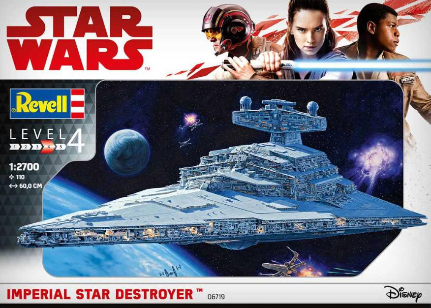 Revell Imperial Star Destroyer Star Wars 1:2700 06719