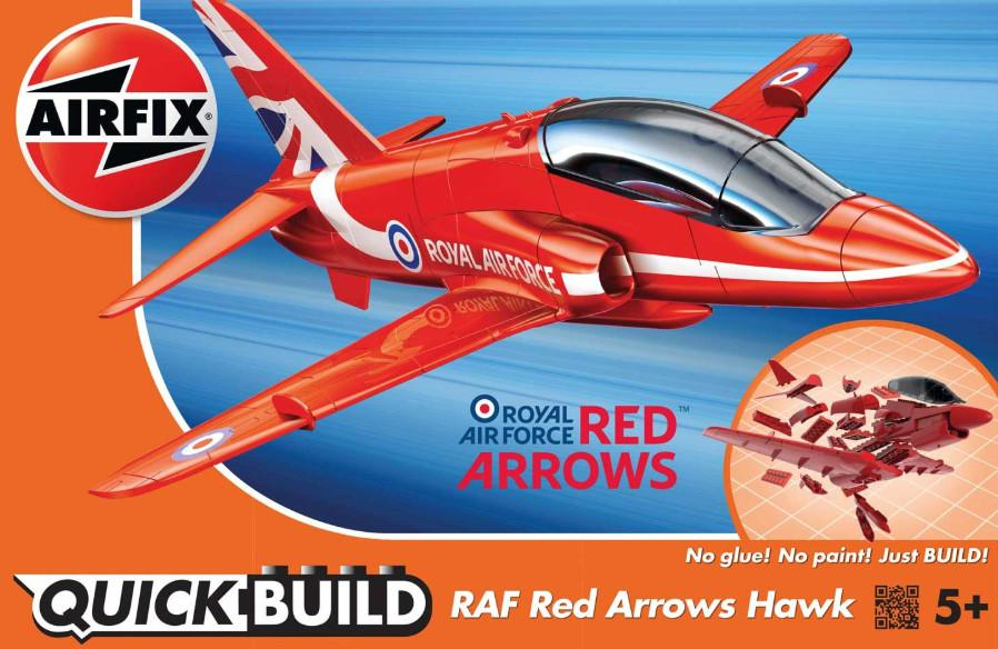 Airfix RAF Red Arrows Hawk Quick Build J6018