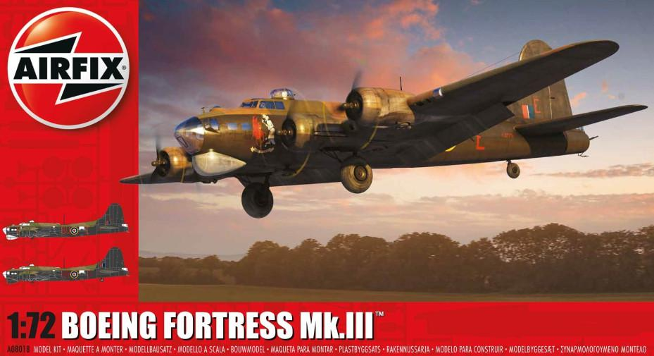 Airfix Boeing Fortress Mk.III 1:72 A08018