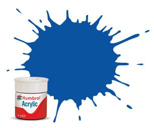 Humbrol barva akryl 14 French Blue Gloss 14 ml AB0014