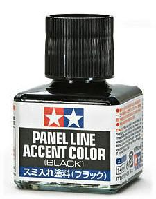 Tamiya Panel Line Accent Color Black 40 ml 87131