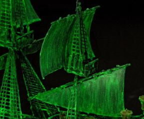 Revell loď Ghost Ship Easy-Click 1:150 05435