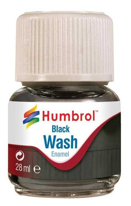 Humbrol panel line Wash Black 28ml AV0201