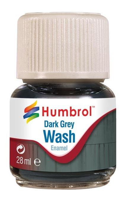 Humbrol panel line Wash Dark Grey 28ml AV0204