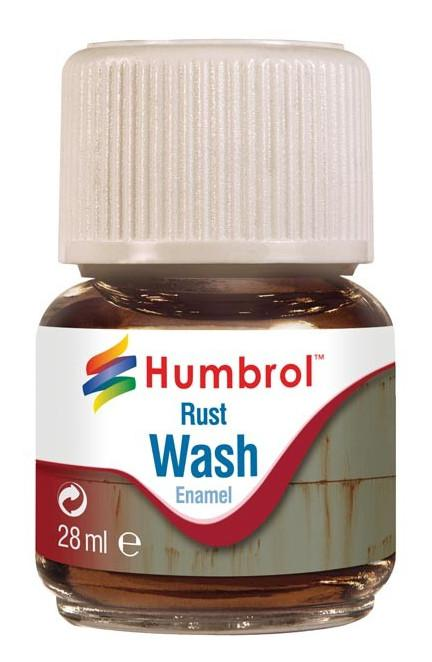 Humbrol panel line Wash Rust 28ml AV0210