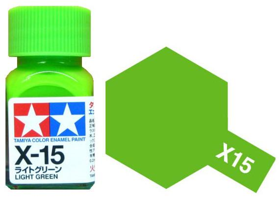 Tamiya barva email X-15 Light Green 10ml