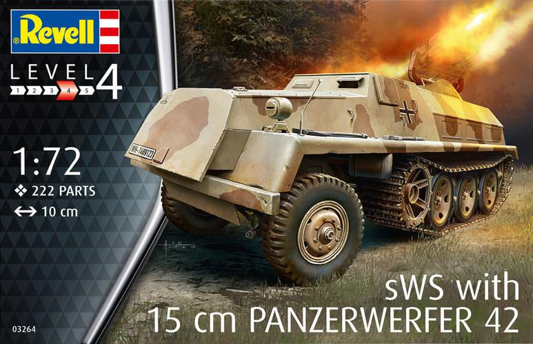 Revell sWS with 15 cm Panzerwerfer 42 1:72 03264