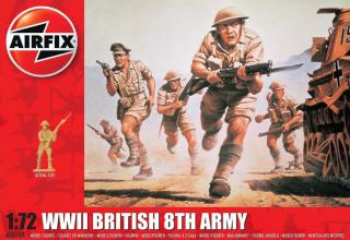 Airfix figurky WWII British 8th Army 1:72 A00709
