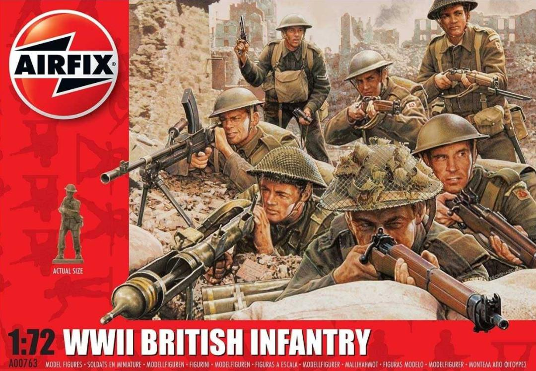 Airfix figurky WWII British Infantry 1:72 A00763
