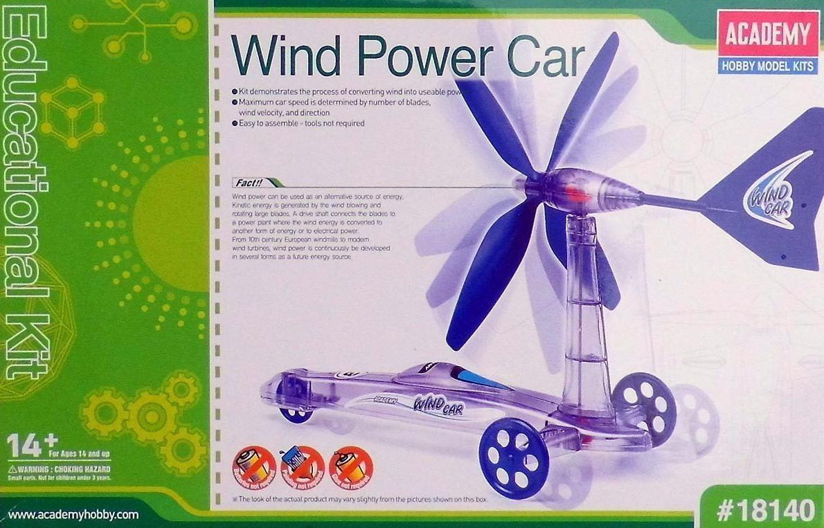 Academy Wind Power Car 18140 Funkční model