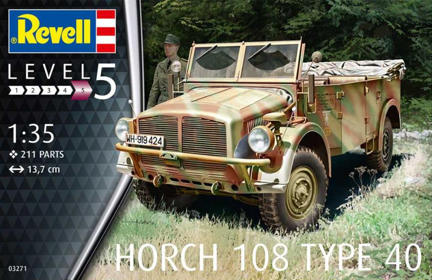 Revell Horch 108 Type 40 1:35 03271