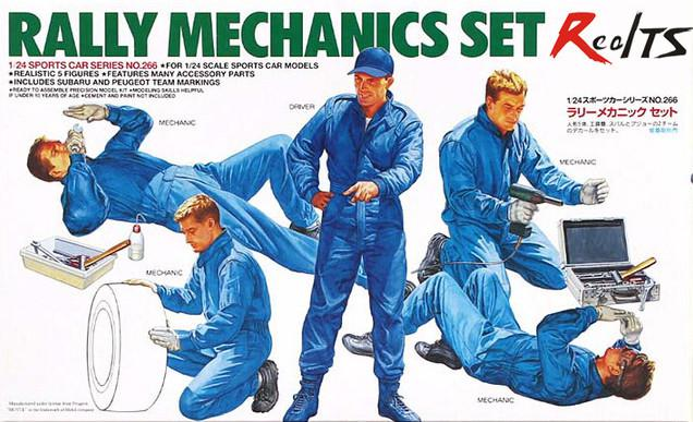 Tamiya Rally Mechanics set 1:24 24266