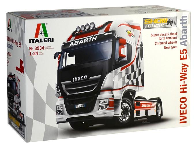 Italeri IVECO Hi-Way E5 Abarth 1:24 3934