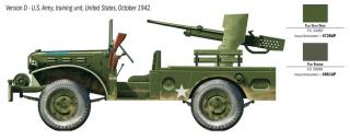 Italeri M6 Gun Motor Carriage WC-55 1:35 6555