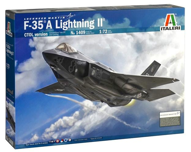 Italeri F-35 A Lightning II CTOL version 1:72 1409
