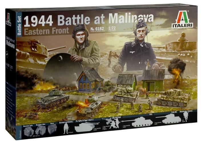 Italeri diorama 1944 Battle at Malinava 1:72 6182