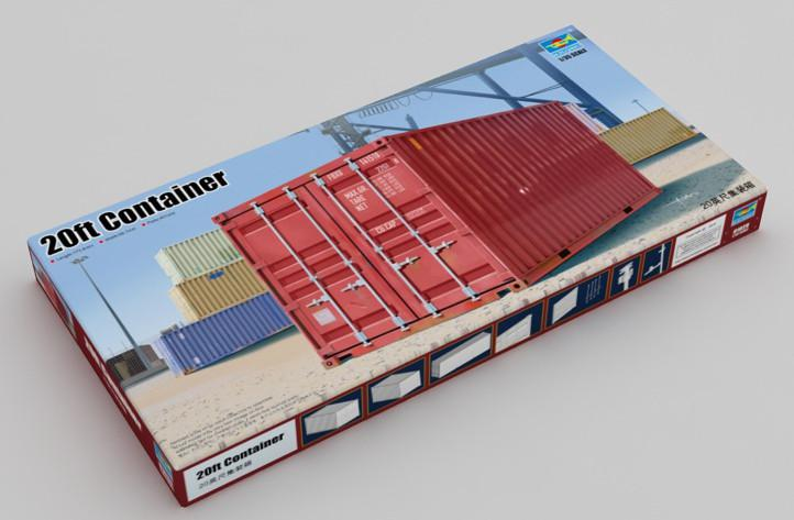 Trumpeter 20ft Container 1:35 01029