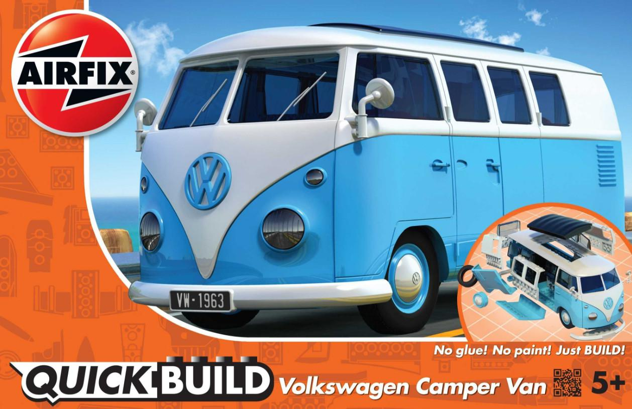 Airfix VW Camper Van Quick Build J6024