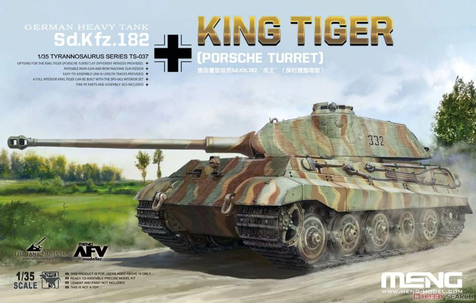 Meng Sd.Kfz.182 King tiger (Porsche Turret) 1:35 TS-037