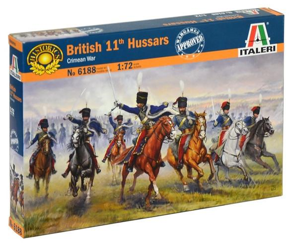 Italeri figurky British 11th Hussars 1:72 6188