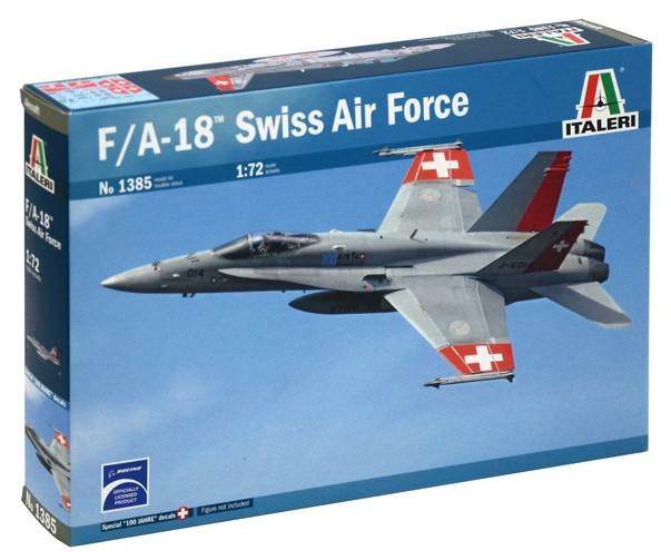 Italeri F/A-18 Hornet Swiss Air Force 1:72 1385