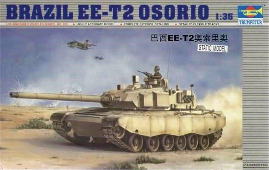 Trumpeter Brazil EE-T2 Osorio 1:35 00333