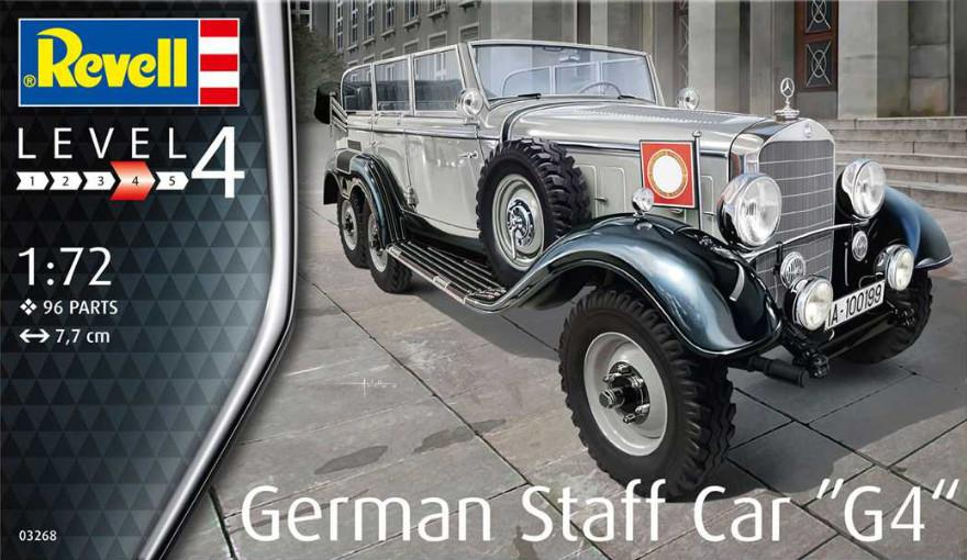 Revell German Staff Car G4 1:72 03268