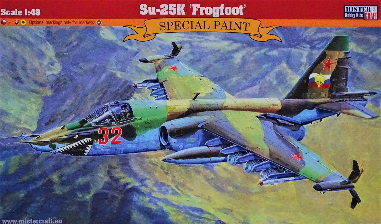 Mister Craft Su-25K Frogfoot 1:48 070106